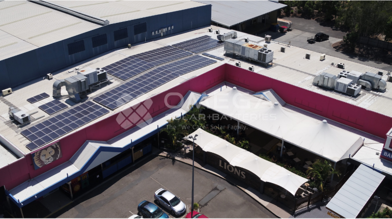 Brisbane Lions Football Club solar installation Brisbane