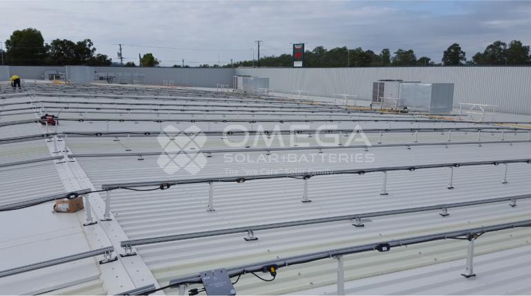 Bunnings Solar Installation