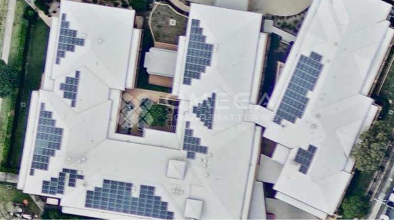 Solar panel installation St Joseph's Aged Care
