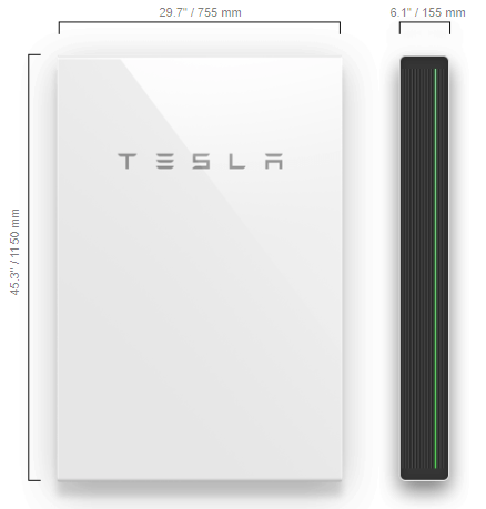 Solar battery technical Specs