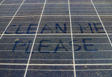 How often do solar panels need cleaning?