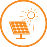 solar projects icon circle