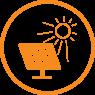 solar projects icon circle Gold Coast Solar Company